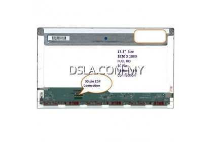 17.3 inch Normal 30pin FULL HD 1920 X 1080 N173HGE-E11 REV. C2 LED LCD REPLACEMENT SCREEN