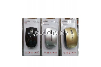 Starius Wireless Optical Mouse M7074 2.4GHZ 1200DPI (Battery Included)